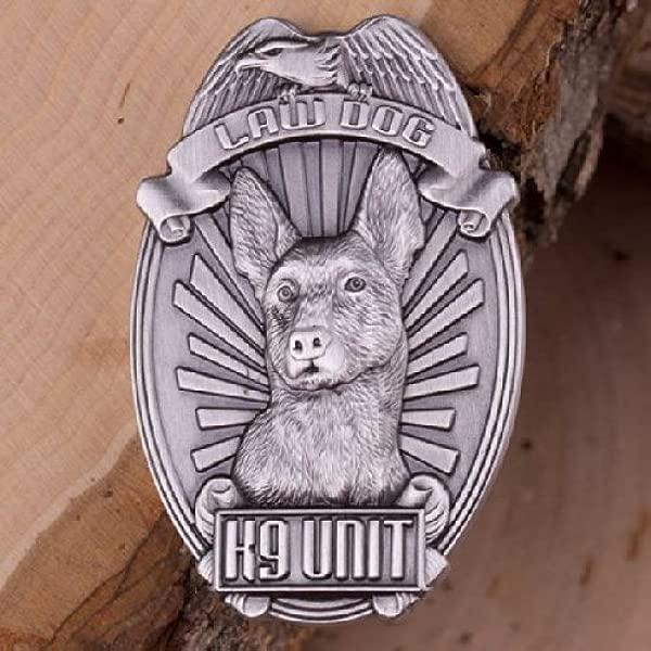 硬币为任何东西公司警察 K9 挑战硬币犬类单位纪念法狗挑战硬币