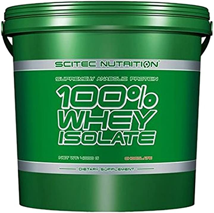 Proteine - whey isolate 4kg cioccolato - scitec nutrition B005IP56MY