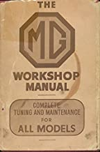 The complete MG workshop and tuning manual