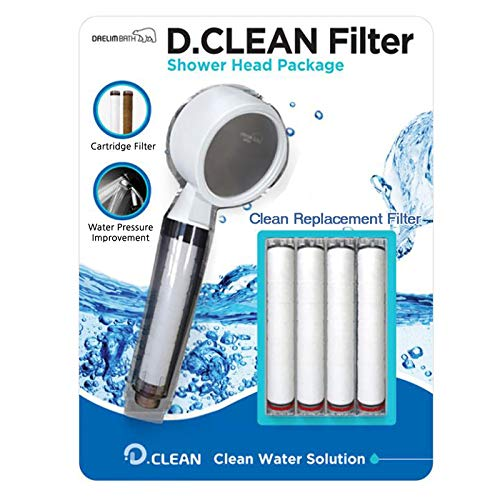Best Review Of Daelim Bath Multi-filter D-clean Shower Set Showerhead and Replacement Filter