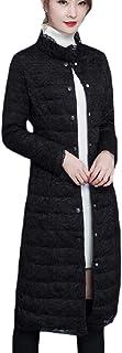 maweisong 女性の暖かい長い袖パフスタンド襟レースかぎ針編み