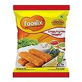 Foodix crujientes verduras Fry Mix-60 Gram (paquete de 7) -No Chemicals, sin conservantes y sin adición de MSG.