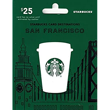 Starbucks San Francisco Gift Card $25