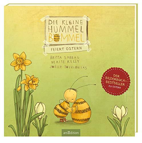 """Die kleine Hummel Bommel feiert Ostern: Kinderbuch ab 3 Jahren, mit der Botschaft \""""Teilen macht glücklich!\"""""""