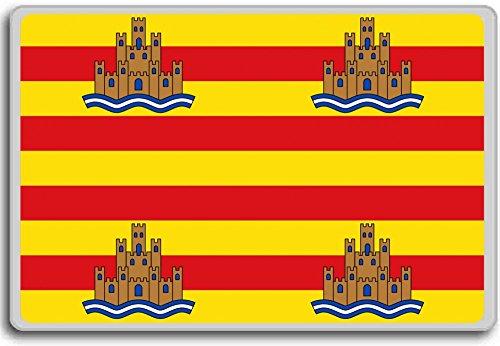 Stoel, Ibiza City vlag koelkast magneet