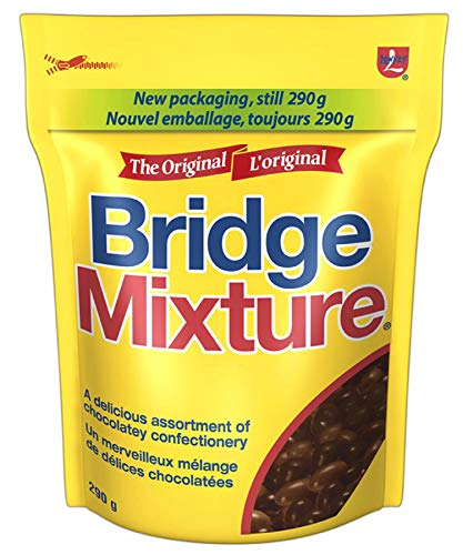 LOWNEY Chocolate Candy Bridge Mixture, 290 Gram