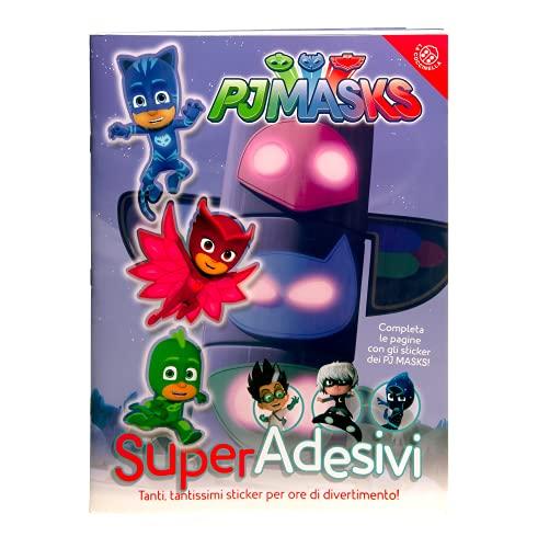 Pj Masks. Super adesivi. Ediz. a colori