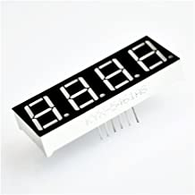 Best Price 5pcs/lot 0.56 Inch 7 Seven Segment 4 Digits Red Clock LED Display Common Anode Time 12 Pins
