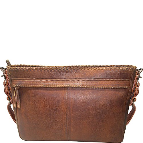 Scully Walker Messenger Bag Tan One Size