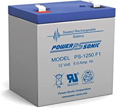 Powersonic PS-1250 F1 Replacement Battery 12V 5 AH