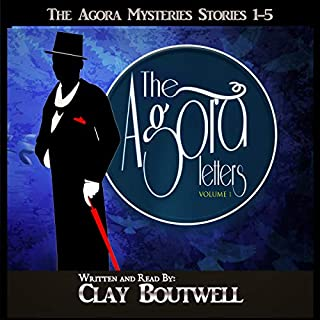 The Agora Letters: 19th Century Historical Murder Mysteries audiobook cover art