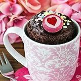500 g Rocks Herz-Bonbons – süße Tisch-Deko zu Hochzeit Taufe Valentinstag Muttertag Kommunion – Süßigkeiten Großpackung zum Naschen – Rot - 7