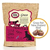 Wishbone Graze Grain and Gluten Free Cat Food, Made from New Zealand Beef Cat Food, All Natural Dry Cat Food, High Protein, Vitamins, Minerals and Taurine Dry Cat Food, for All Cat Life Stages, 4lbs