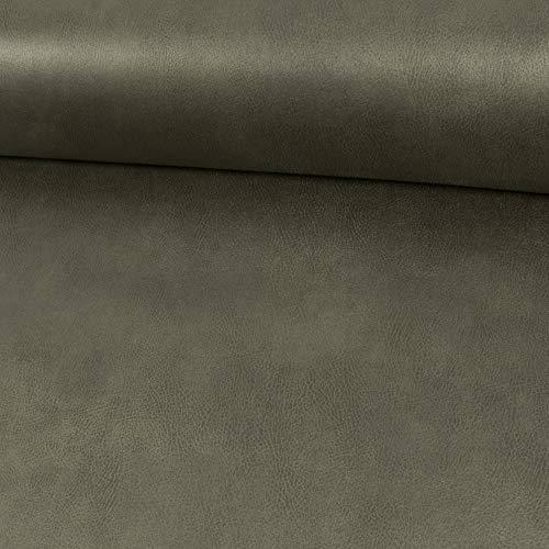 Polsterstoff Velourslederimitat Kentucky anthrazit Möbelbezug Bezugsstoffe Lederanteil - Preis Gilt für 0,5 Meter