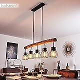 Pendelleuchte Gondo Metall/Holz LED - 9