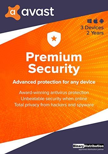 Avast Premium Security 2021, 3 Devices 2 Years,...