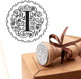 Timbro Lettera I Iniziali Timbri Lettere Alfabeto Monogramma I Idee Regalo Aziendale