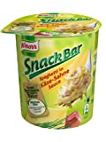 Knorr Snack Bar para espaguetis en queso de nata de sauce (Pack de 8, 8x 71g)