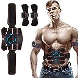 Moonssy Electroestimulador Muscular, EMS Estimulador Muscular Abdominales, para...