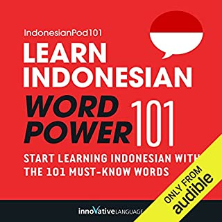 Learn Indonesian - Word Power 101 cover art