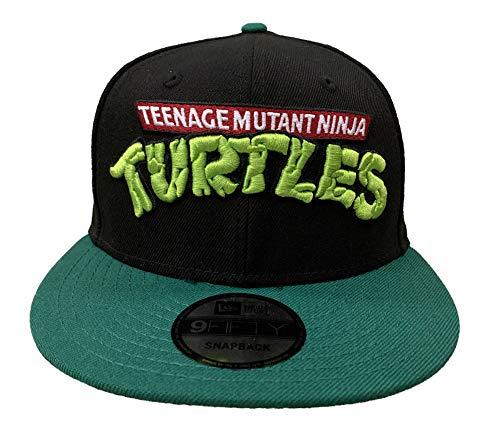 New Era Teenage Mutant Ninja Turtles Logo 9Fifty verstellbare Snapback Mütze schwarz
