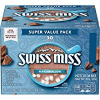 30-Count Swiss Miss Marshmallow Hot Cocoa Mix, 1.38 Ounce Envelopes