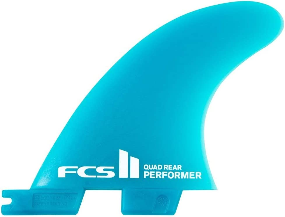FCS Super special price Surf ll Performer Neoglasss Chicago Mall Quad Medium Set Rear Fin