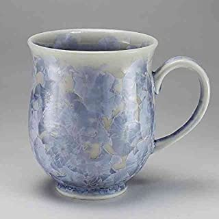 京焼 清水焼 マグカップ 花結晶(銀花) はなけっしょう(ぎんか) TOA804-01