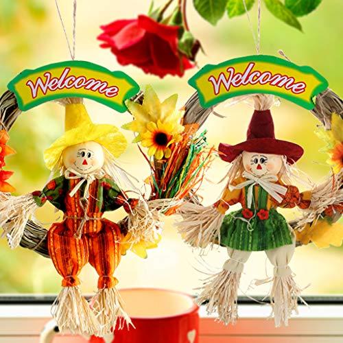 Espantapájaros de IFOYO, para la cosecha de otoño, decoración para jardines, casas,...