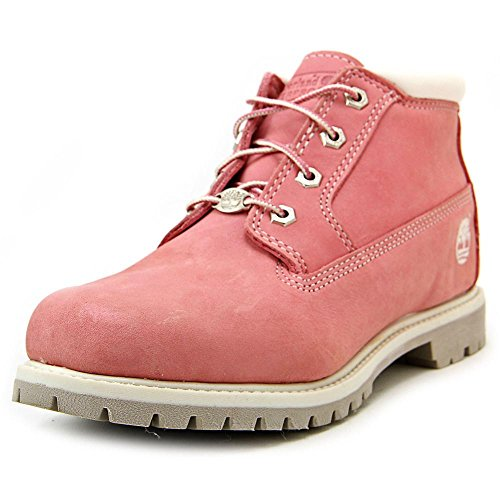 Hot Sale Timberland Women's Nellie Double WP Ankle Boot,Pink,7.5 W US