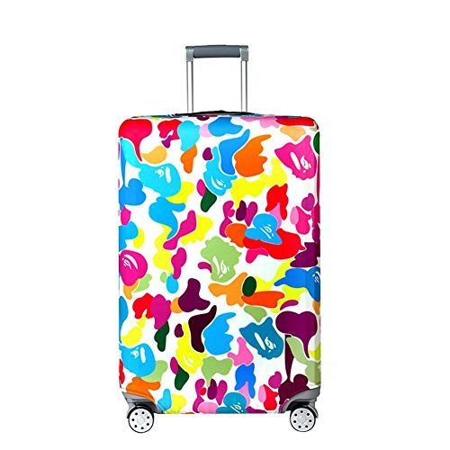 Great Features Of Vaskey Cartoon Pattern Elastic Washable Luggage Protector Case Suitcase Protective...