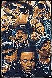 Rap Legends Big Snoop Dogg Ice Cube Eminem Tupac II Zinn