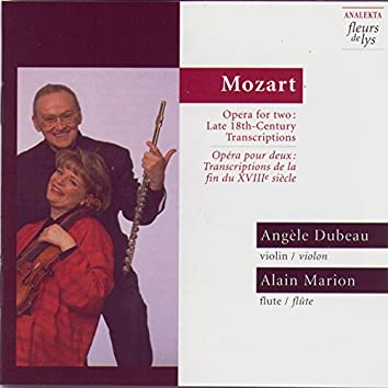 Mozart: Opera for two - Late 18th-Century Transcriptions