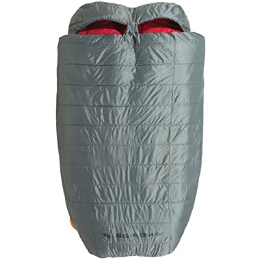 Big Agnes Cabin Creek 15 Degree Sleeping Bag Grey 2 Person