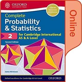 Probability & Statistics 2 for Cambridge International AS & A Level: Online Student Book