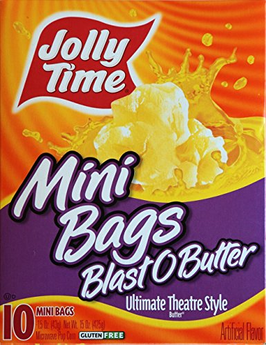 Jolly Time Blast O Butter 10 Mini Bags (2 PACK)