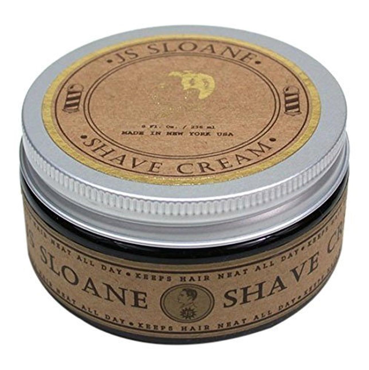 暫定ピット中央JS Sloane ジェントルマンズ シェーブクリーム / Gentlemen's Shave Cream , 8oz (236mL)