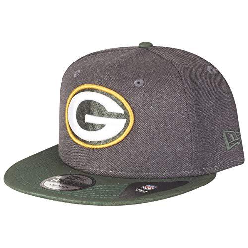 New Era New Era NFL Heather 9Fifty Snapback Cap Green Bay Packers Grau, Size:S/M