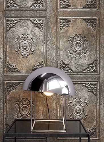 NEWROOM Holztapete Tapete Braun Holz Landhaus Vliestapete Bronze Vlies Holztapete Holzwand Naturholz Holzpaneele Vintage inkl. Tapezier Ratgeber