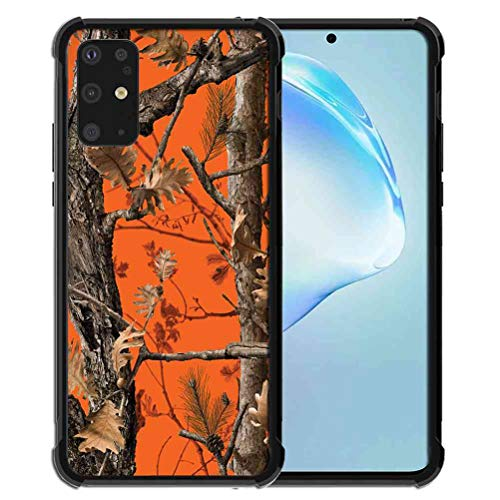 Phone Case for Samsung Galaxy S20 Plus Case (2020) for Girls Women Hunting Camo Forest Camouflage, ABLOOMBOX Anti Scratch Slim Bumper Shockproof Protective Case Cover Reinforced Corners