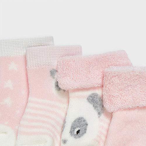 Mayoral Set 4 calcetines rizo bebe niño modelo 9302