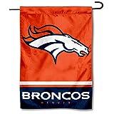 WinCraft Denver Broncos Double Sided Garden Flag