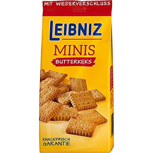 Leibniz Minis Butterkekse, 6er Pack (6 x 125g)
