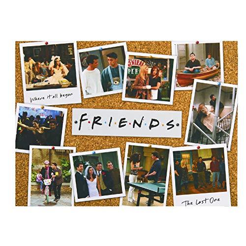 Paladone- Rompecabezas de la Temporada del Programa de televisión Friends – 1000 Piezas – Producto Oficial (PP7526FRTX)