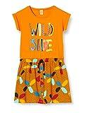 Tuc Tuc Vestido Punto Bolsillos NIÑA Naranja Wild Side