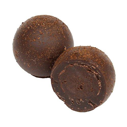 Lose Pralinen - Eine Schachtel mit Espresso-Trüffeln, 1kg