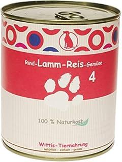 6 x 400 g - Wittis Deftig-Fleischgerichte für Hunde - garan