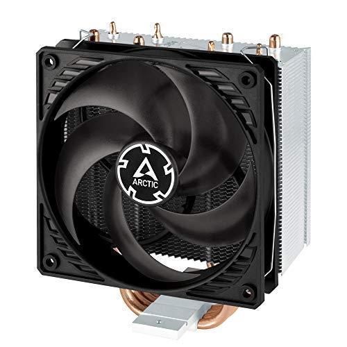 ARCTIC Freezer 34 - Tower Prozessorkühler mit P-Serie Lüfter für Intel und AMD Sockel, empfohlen für TDP bis 150 Watt, CPU-Kühler mit 120 mm PWM Lüfter, voraufgetragene MX-4 Wärmeleitpaste - Grau