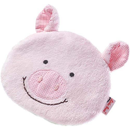 Käthe Kruse 0174392 Schweinchen Rosi Dinkel-Roggen Kissen, rosa