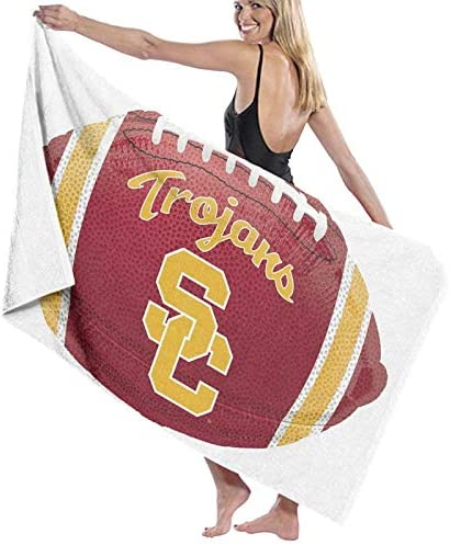 Yamike USC Trojans 3 Beach Towels Microfiber Super Soft Absorbent Blanket for Adults Women Men product image